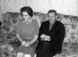 Verla (Gray) & Harold Bell Jackson, Sr. [March 1962]